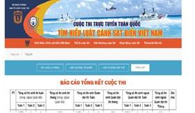 """Công bố kết quả đợt thi Tuần 1 Cuộc thi """"Tìm hiểu Luật Cảnh sát biển Việt Nam"""""""