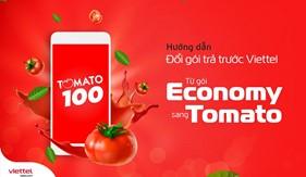 Hướng dẫn đổi gói trả trước Viettel từ gói cước Economy sang Tomato