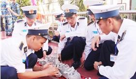 Hoạt động nghiên cứu khoa học của học viên đào tạo sĩ quan Cảnh sát biển tại Học viện Hải Quân