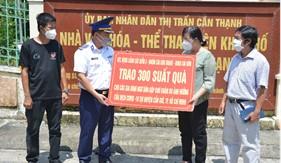 Bộ Tư lệnh Vùng Cảnh sát biển 3 đồng hành cùng ngư dân huyện Cần Giờ
