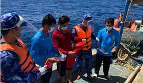 BTL Vùng Cảnh sát biển 4 quyết tâm giảm thiểu, chấm dứt tình trạng khai thác hải sản bất hợp pháp
