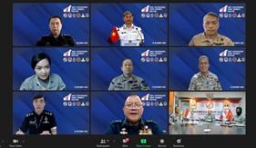 Họp trực tuyến Nhóm Tư lệnh Cảnh sát biển các nước Brunei, Indonesia, Malaysia, Philippines, Singapore và Việt Nam